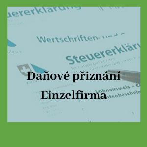daňové přiznání einzelfirma ve Švýcarsku
