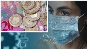 koronavirus výplaty ve Švýcarsku